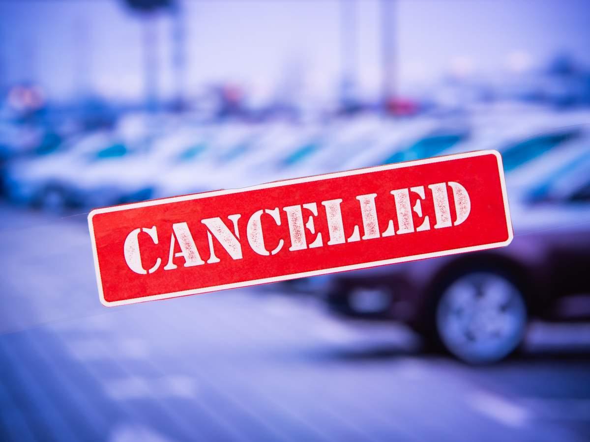 registration cancellation